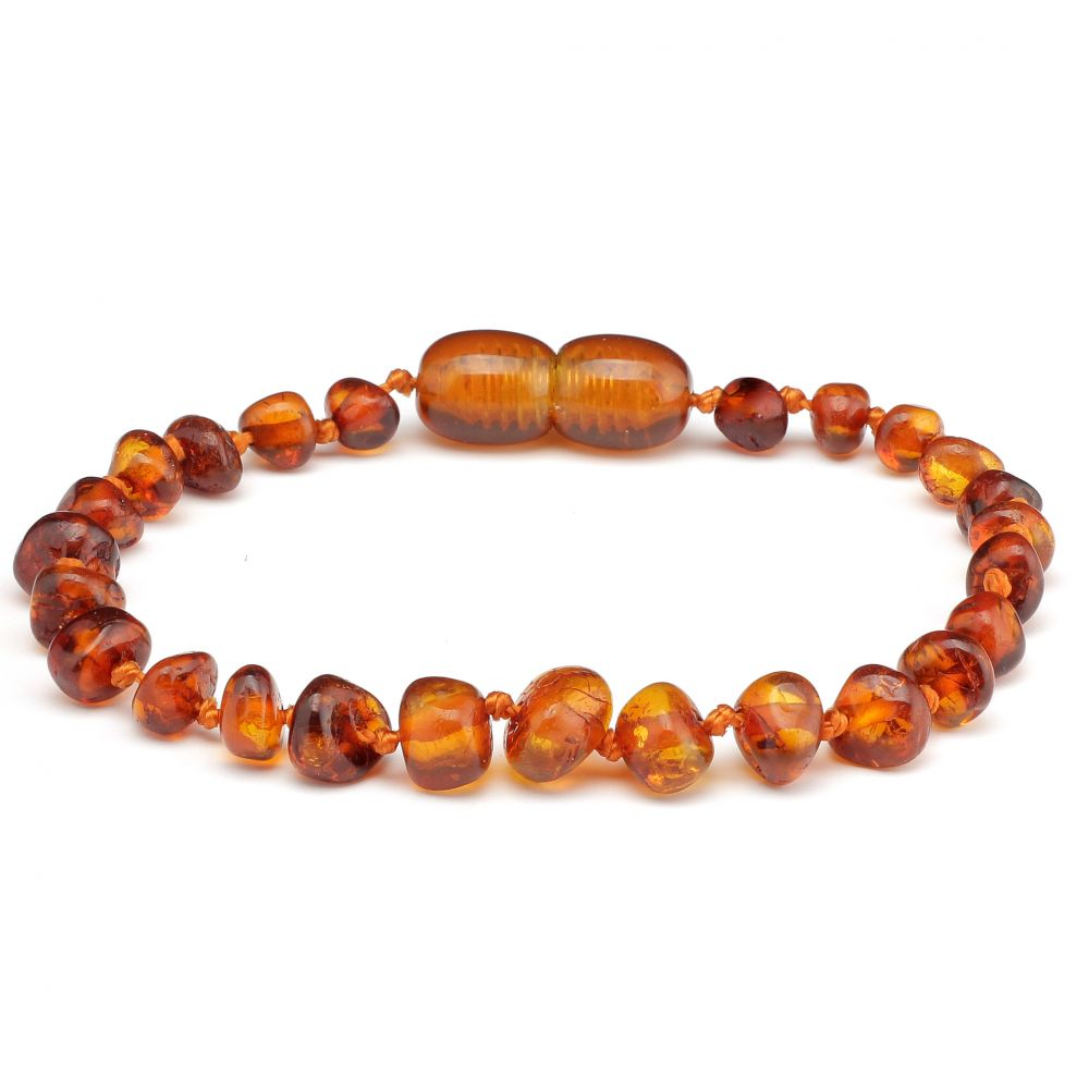 Made By Nature Amber Bracelet - Cognac