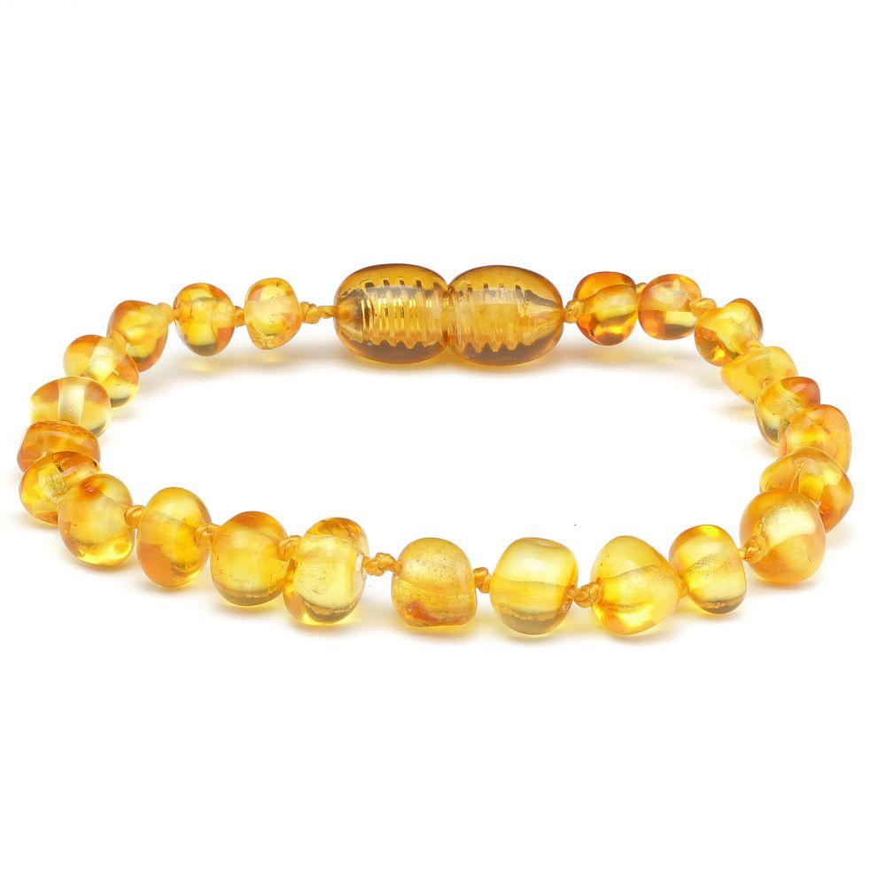 Made By Nature Amber Bracelet - Honey