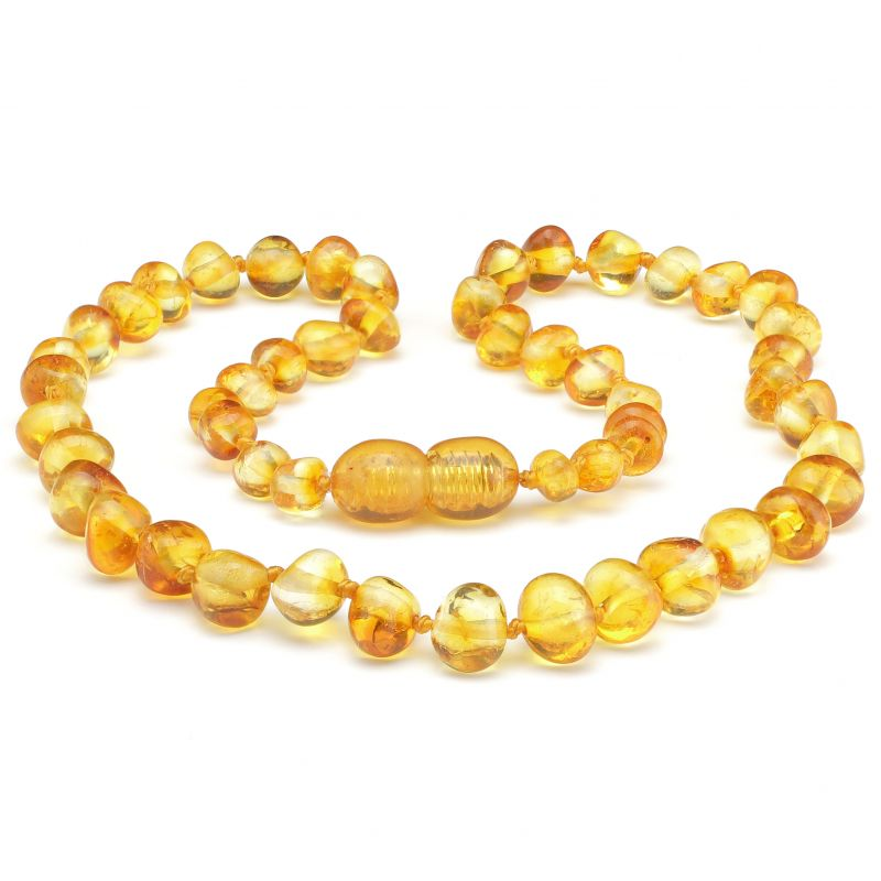 Made By Nature Amber Necklace - Honey