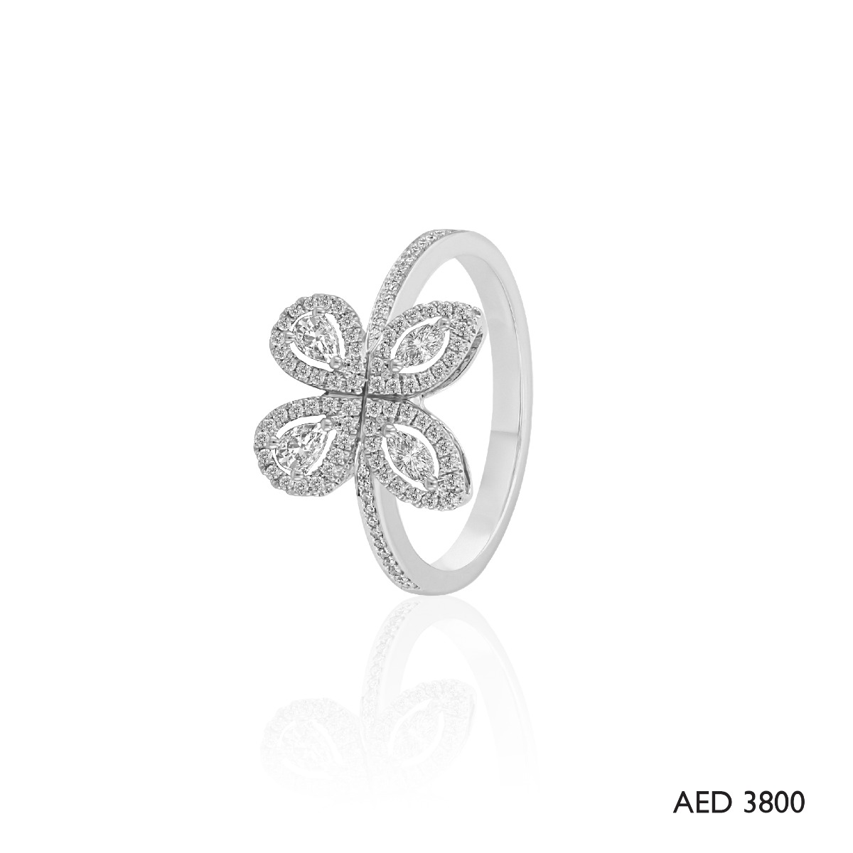 Red Carpet Butterfly Ring