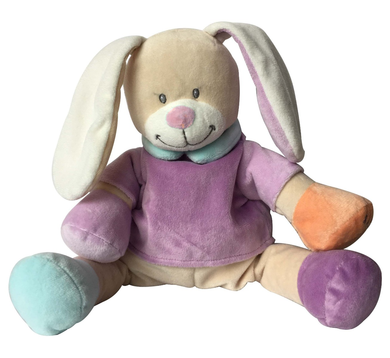 Babiage Back-To-Sleep Baby Monitor Pink Rabbit Doodoo