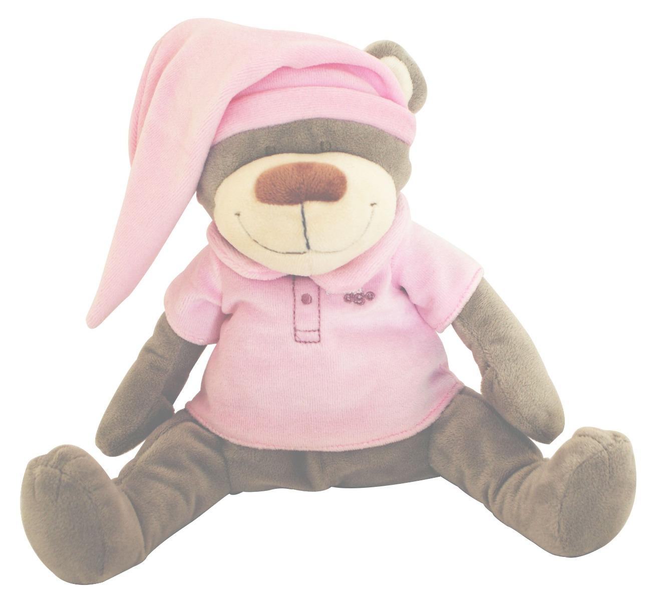 Back-to-sleep baby monitor - Pink Bear Doodoo