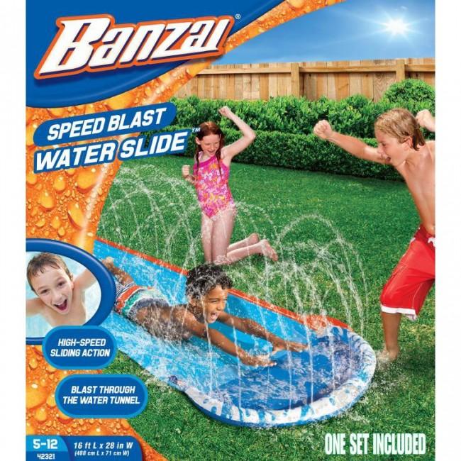 Banzai 16 Feet Speed Blast Water Slide