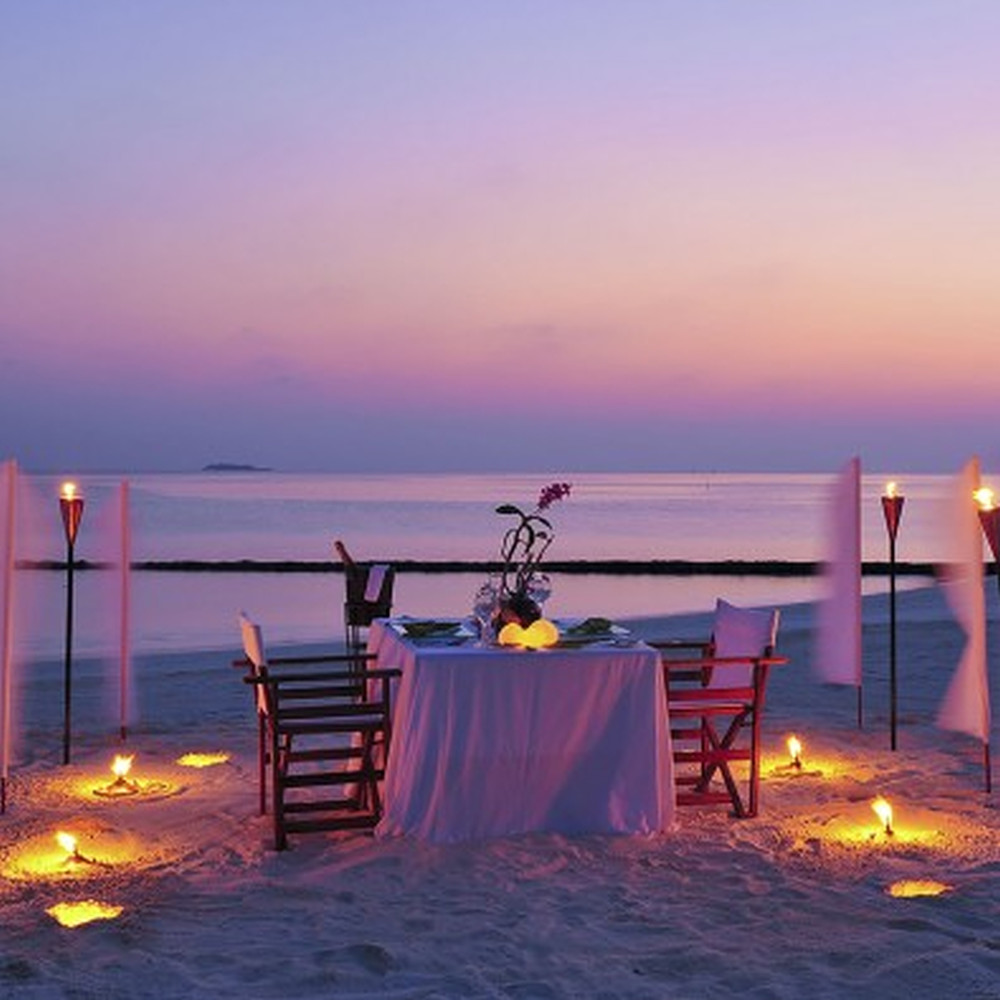 Contribution to Maldives Private Dinner under the stars