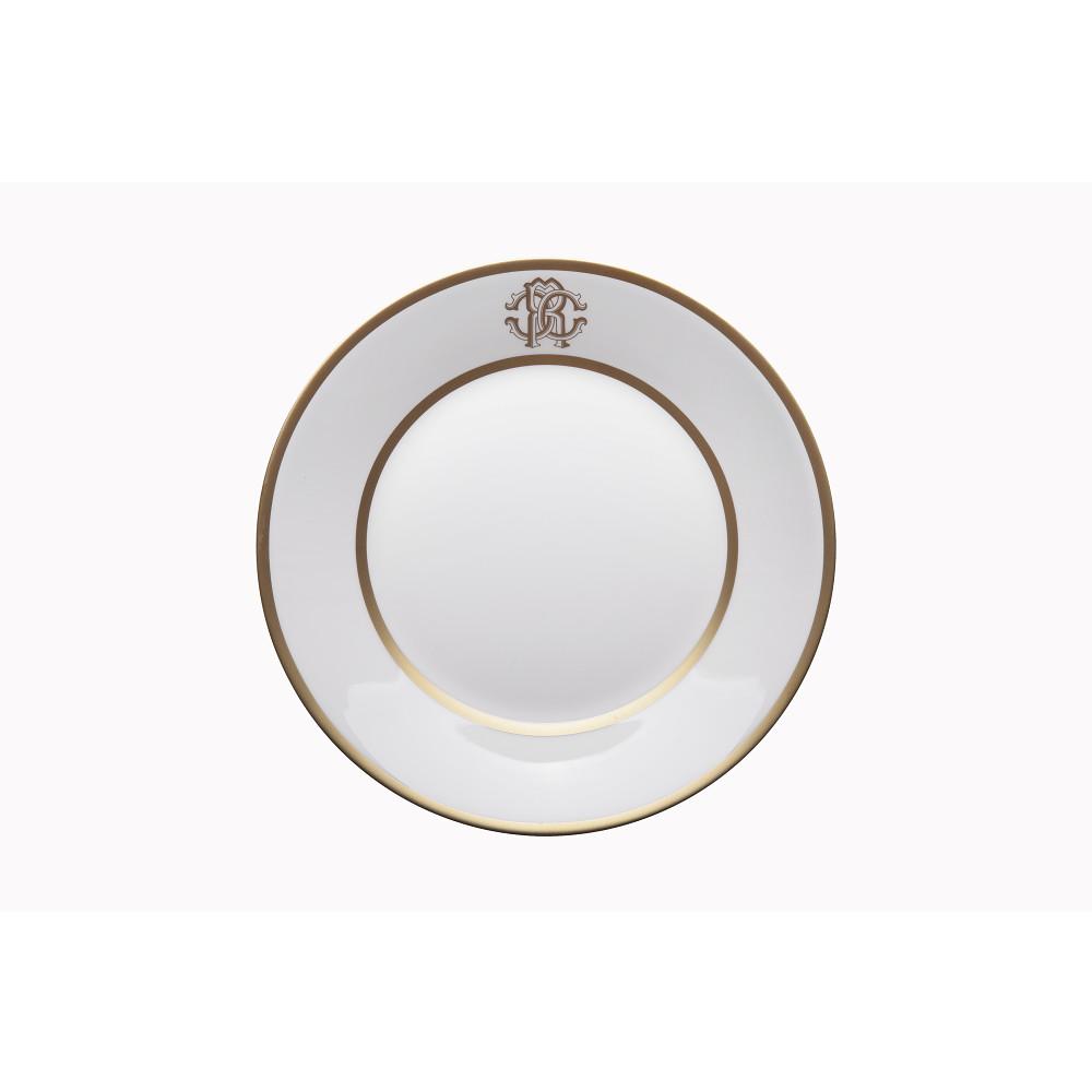 Roberto Cavalli SILK GOLD Soup Plate
