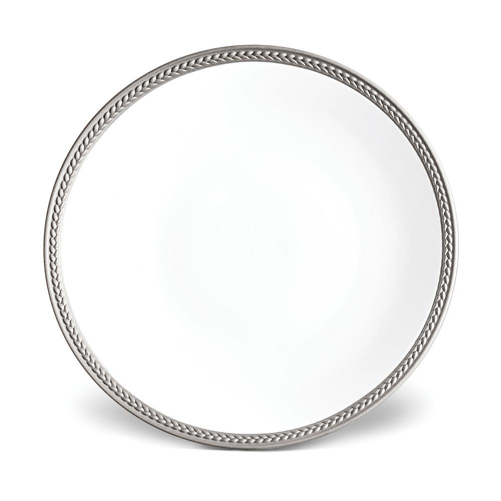 L'Objet SOIE TRESSEE Dessert Plate
