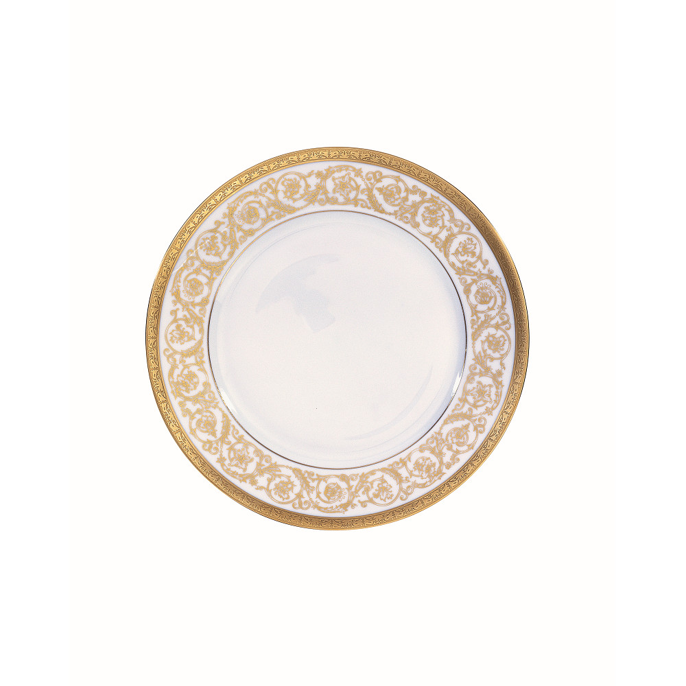 Christofle ORANGERIE GOLD Dessert Plate