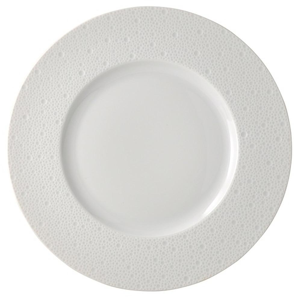 Bernardaud Ecume Dinner Plate White