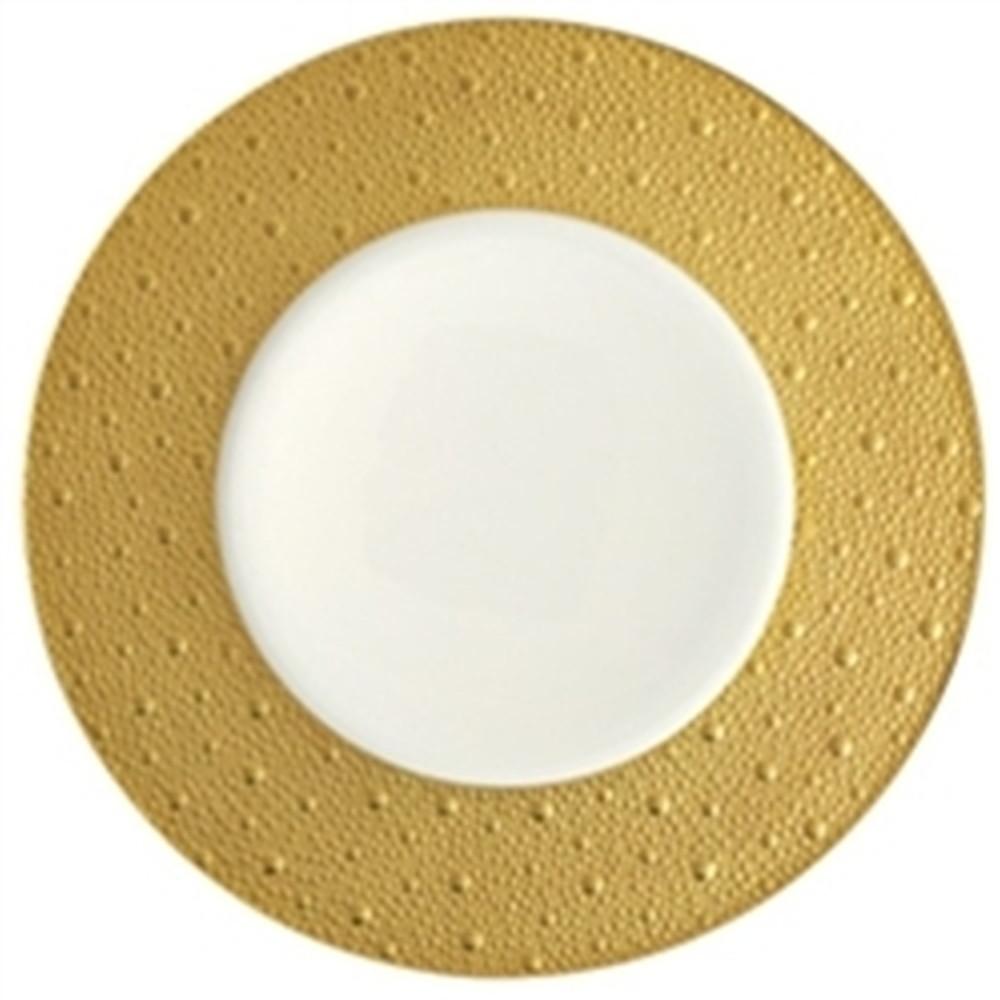 Bernardaud Ecume Dinner Plate Gold