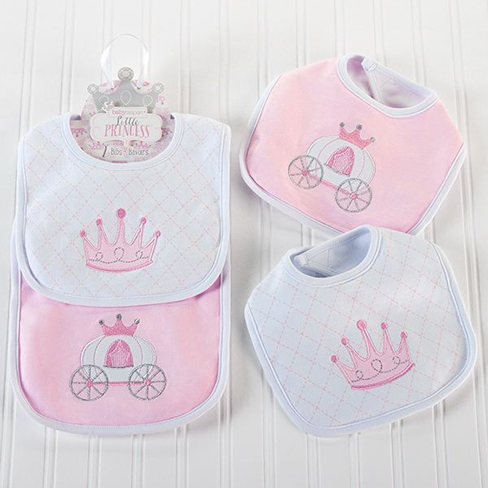 Baby Aspen Little Princess Bibs