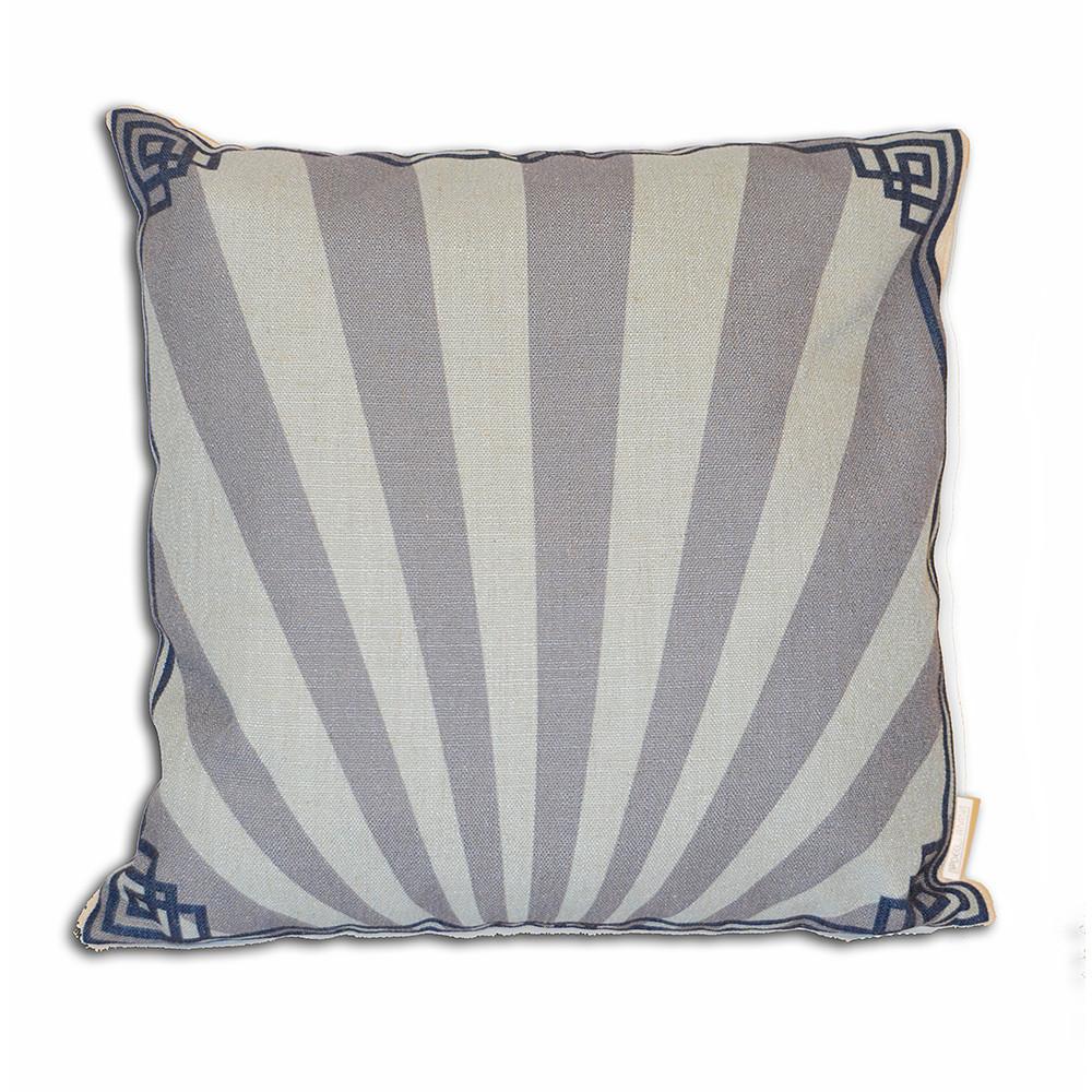 Deco Arabia Plain-Blue cushion cover