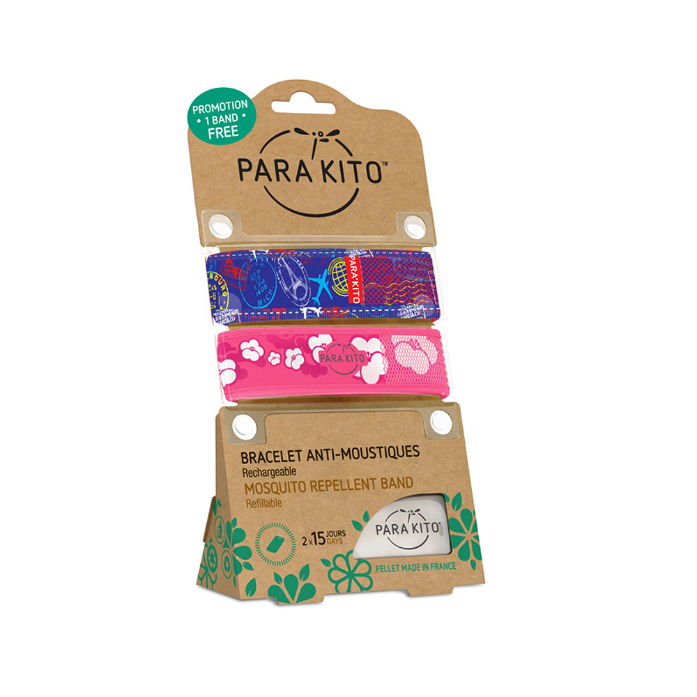 Para'Kito Promotional Pack Bands Graphic