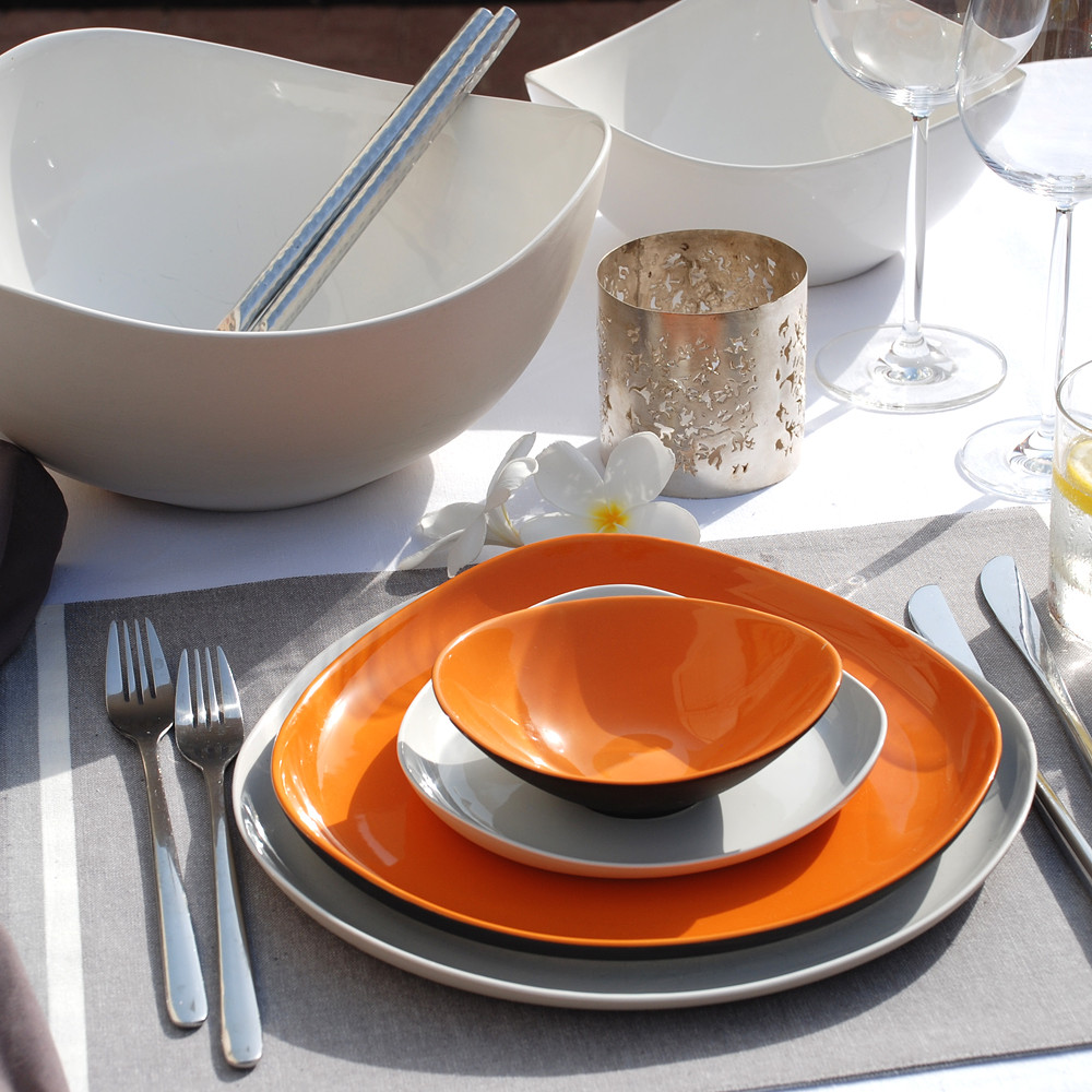 Imprint Vibrant Dinnerware, Set for 8 35pcs