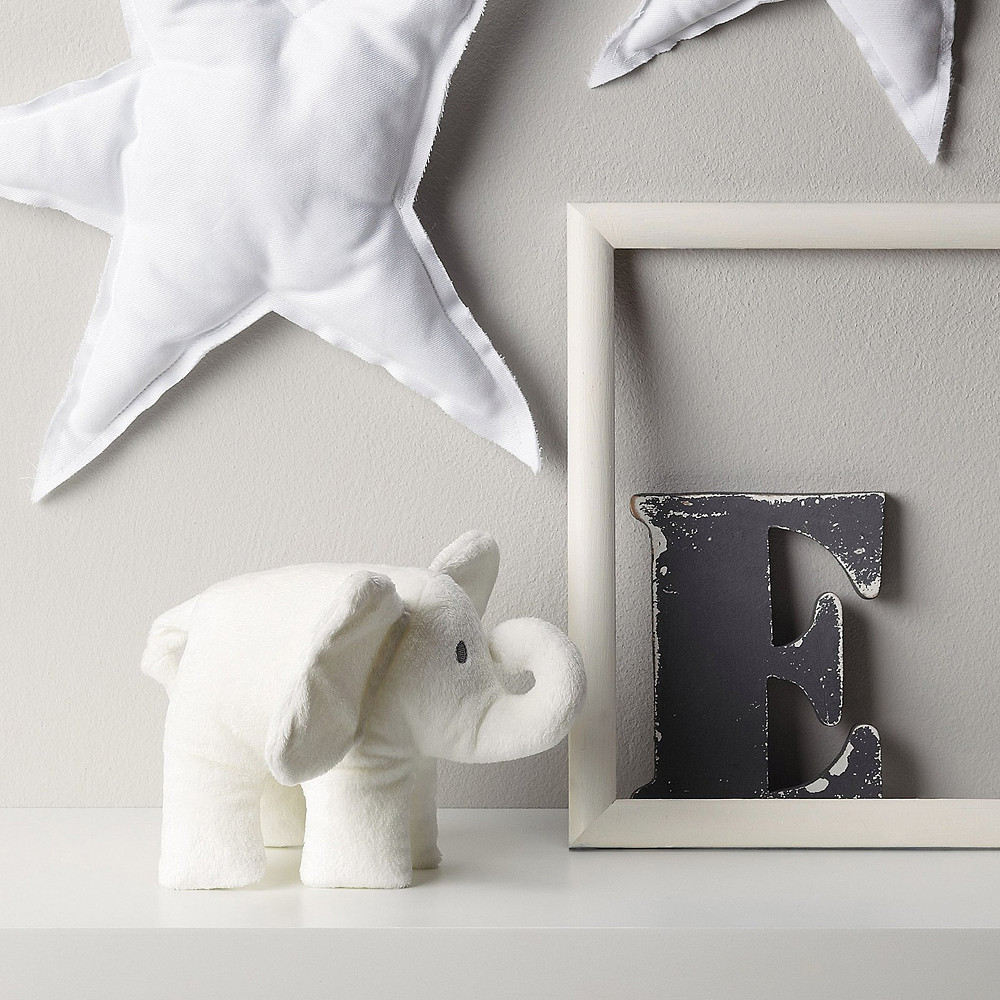 The White Company Indy Elephant With Crinkle Ears