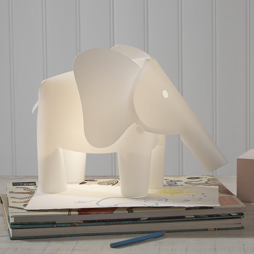 The White Company Indy Elephant Light, White