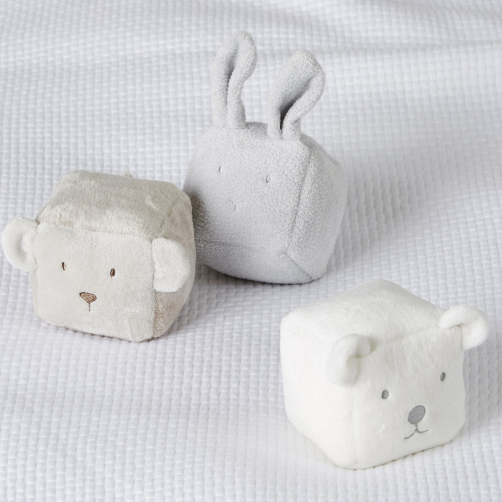 The White Company Animal Play Cubes