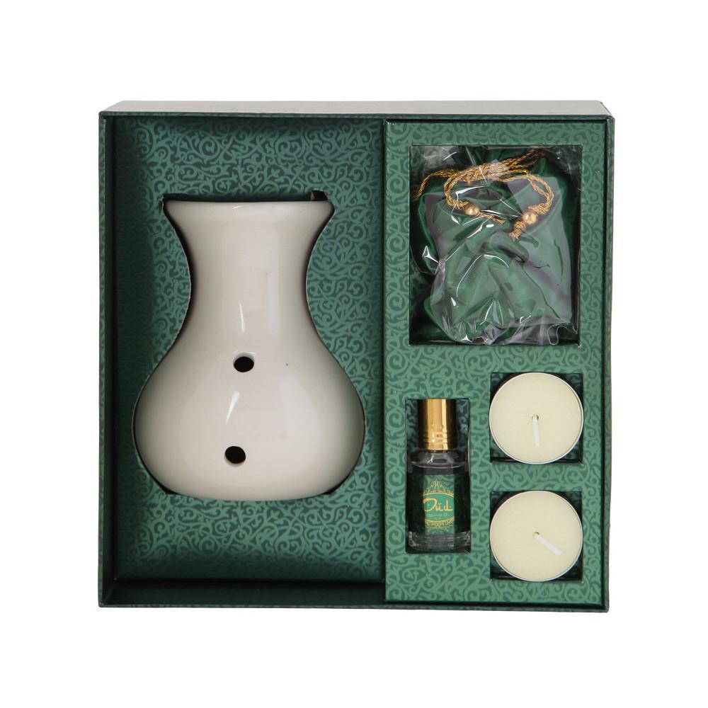 Home Centre Oud Gul-e-Gulaab Oil Burner Gift Set