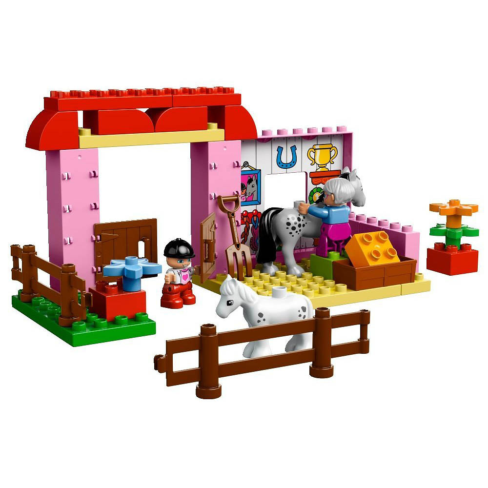 Lego Horse Stable