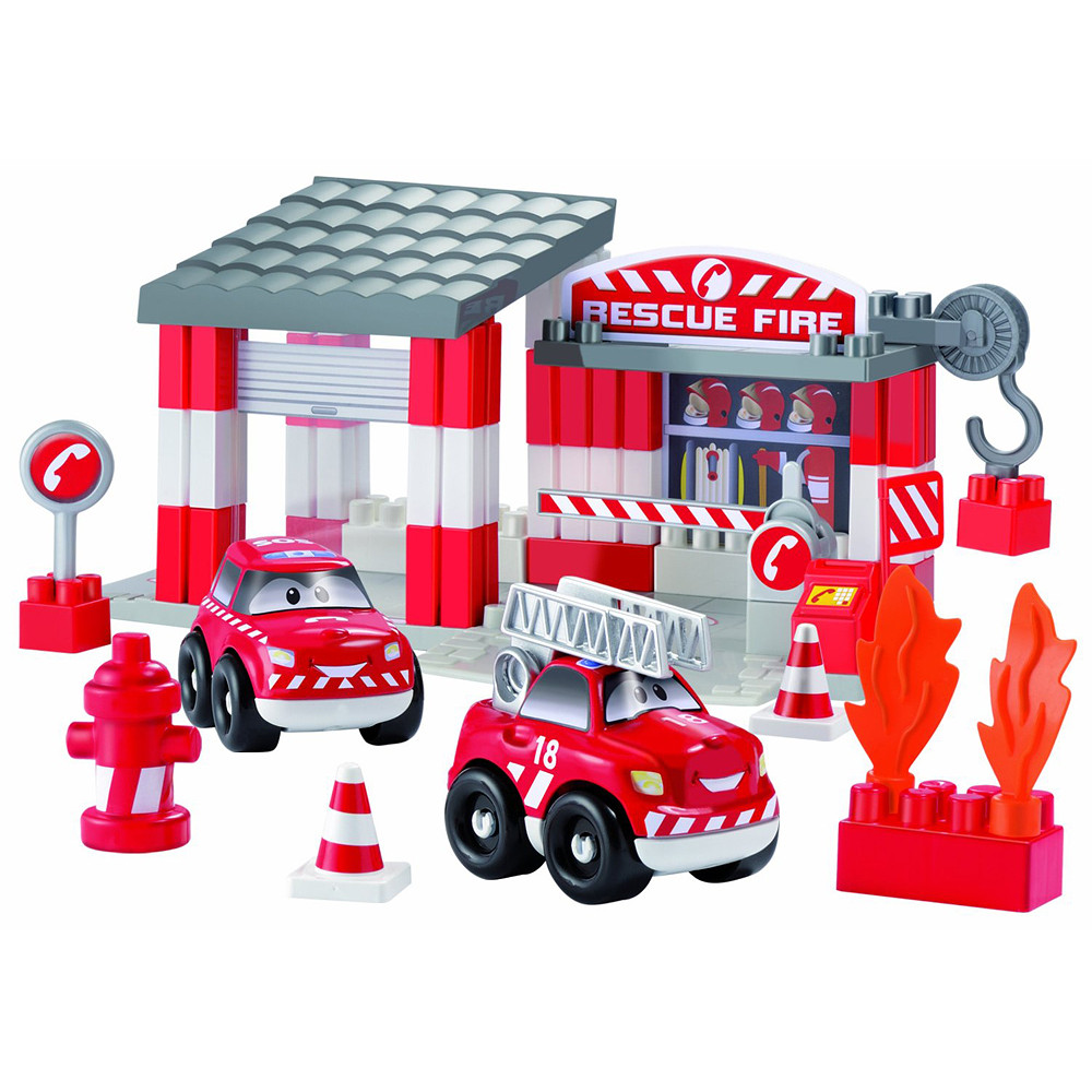 Ecoiffier Rescue Fire