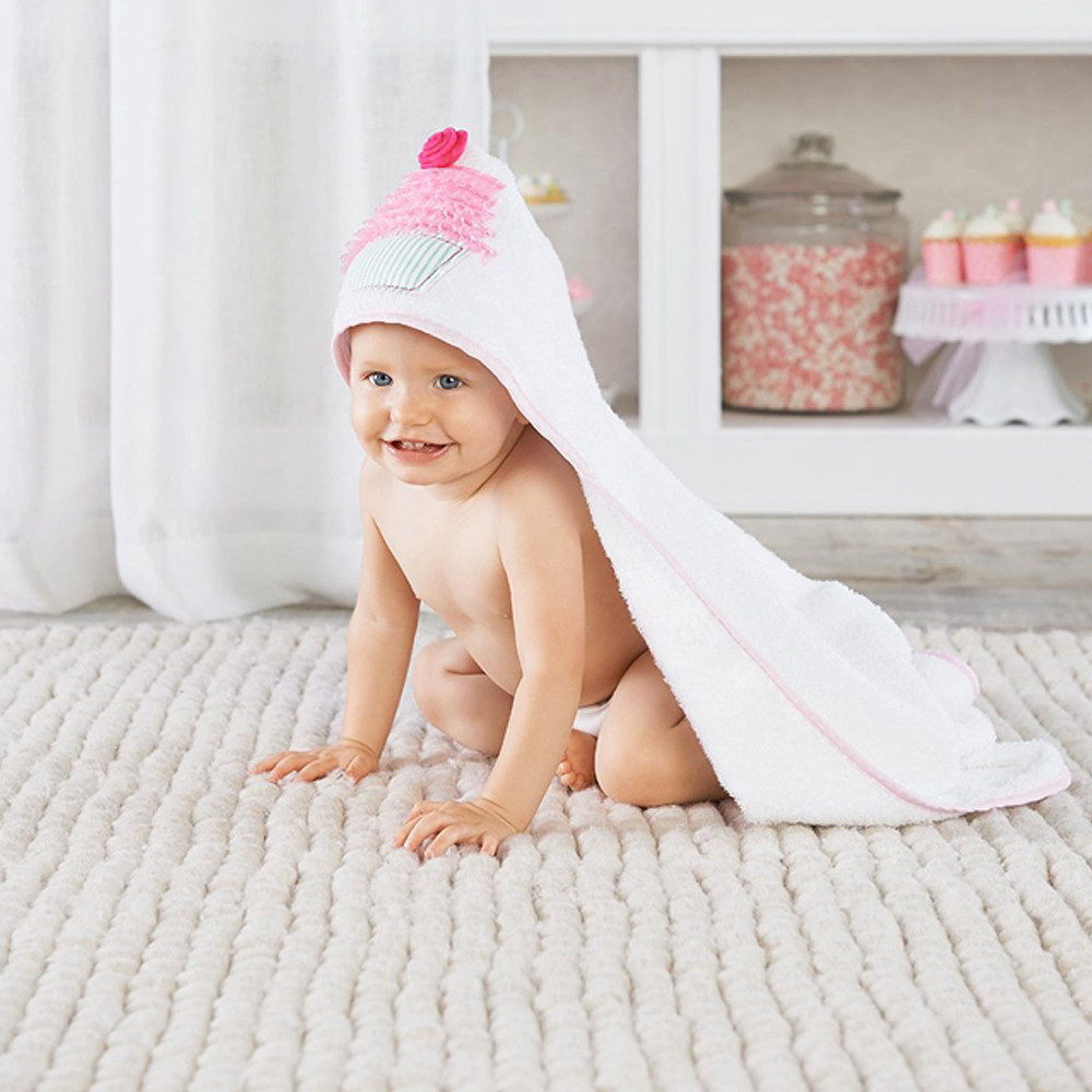 Baby Aspen Baby Cakes Hooded Towel