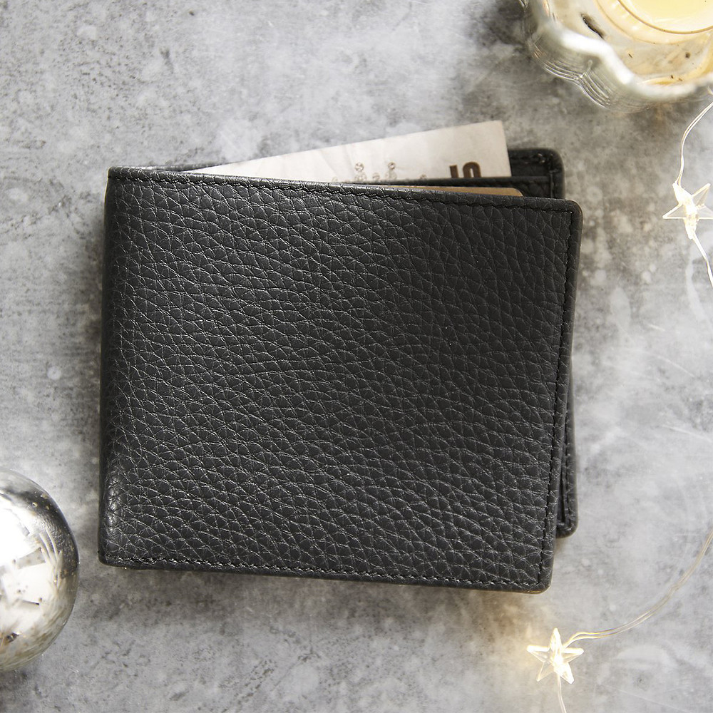 The White Company Men's Leather Wallet