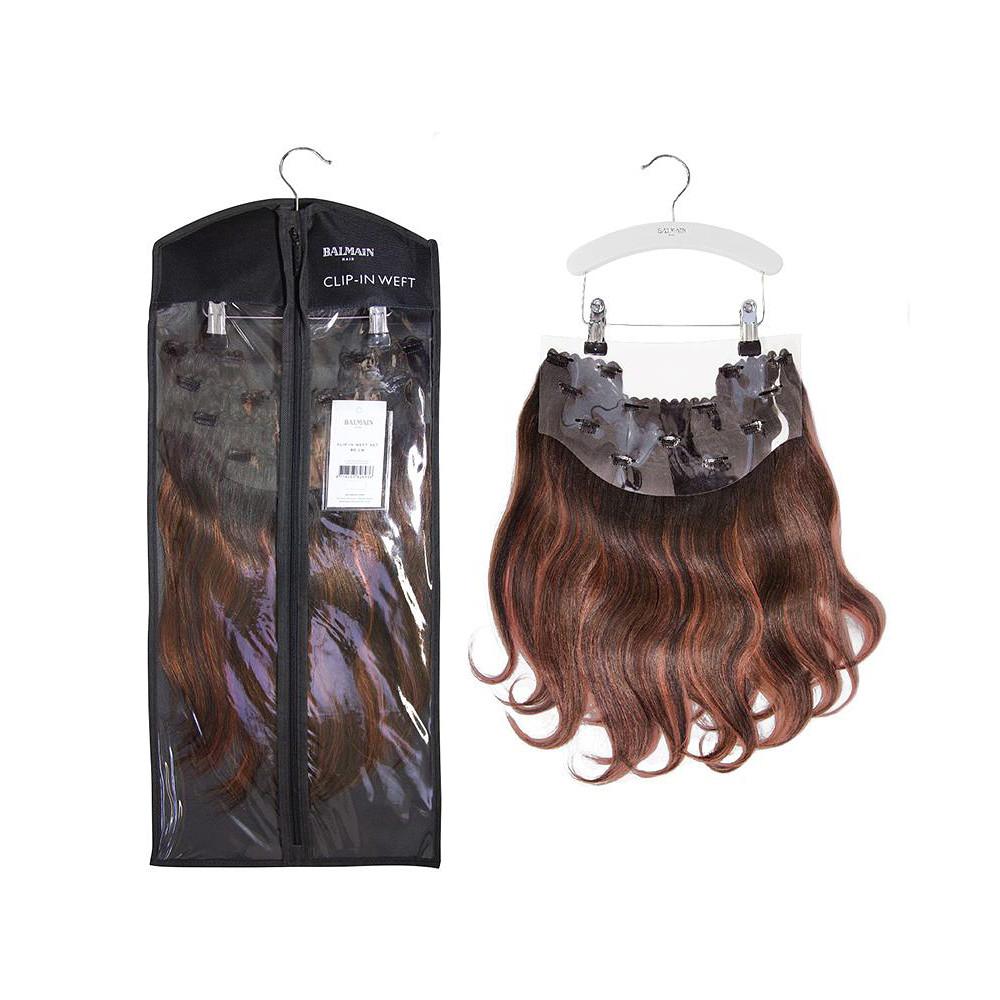 Blowout&Go Balmain Clip-In Weft Set Human Hair 40cm