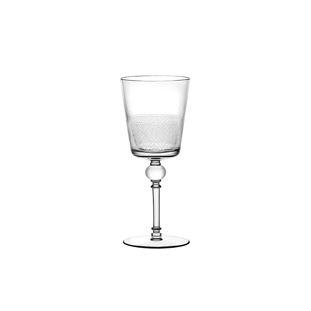 Christofle Jardin D Eden White Glass