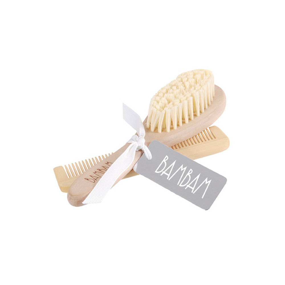 BamBam Brush and Comb in Giftbag