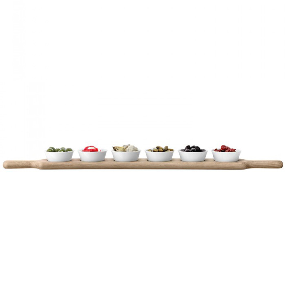 LSA International Paddle Long Bowl Set