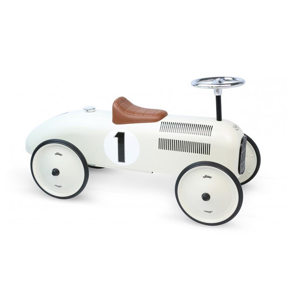 MarMarLand Vilac Metal Car, White