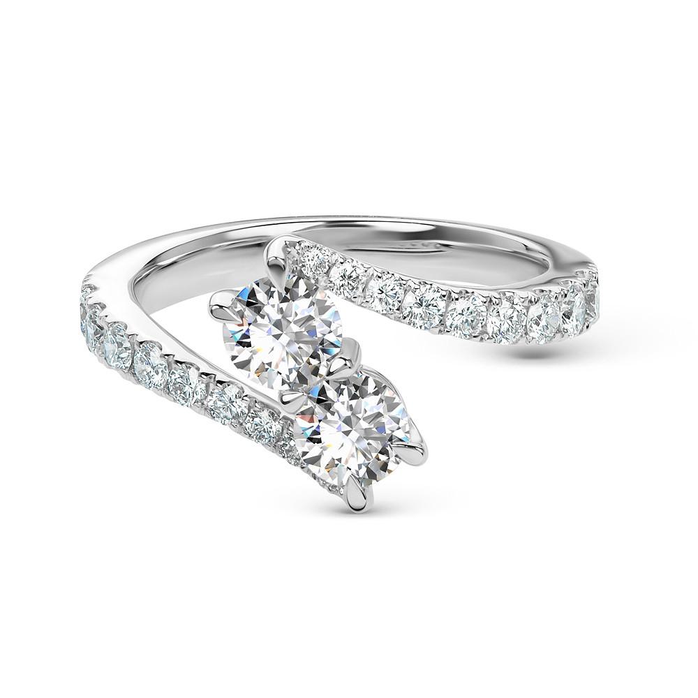 Damas 2-Stone Ring