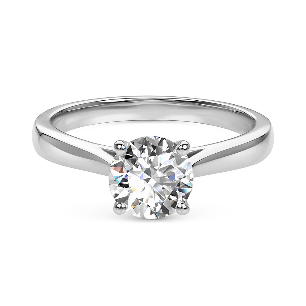 Damas Solitaire Ring