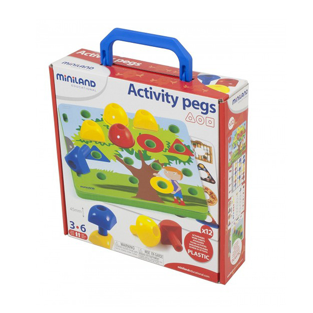 Miniland Activity Pegs