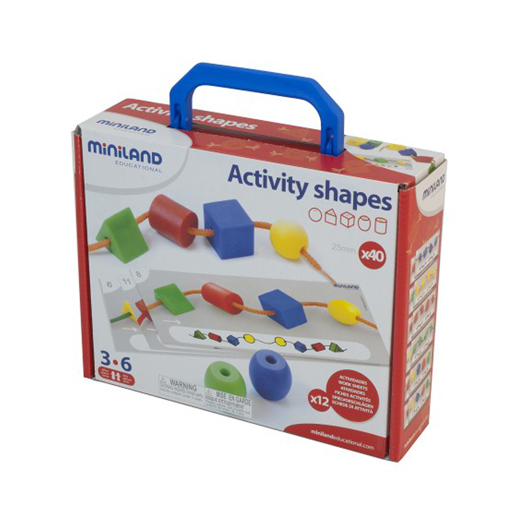 Miniland Activity Shapes