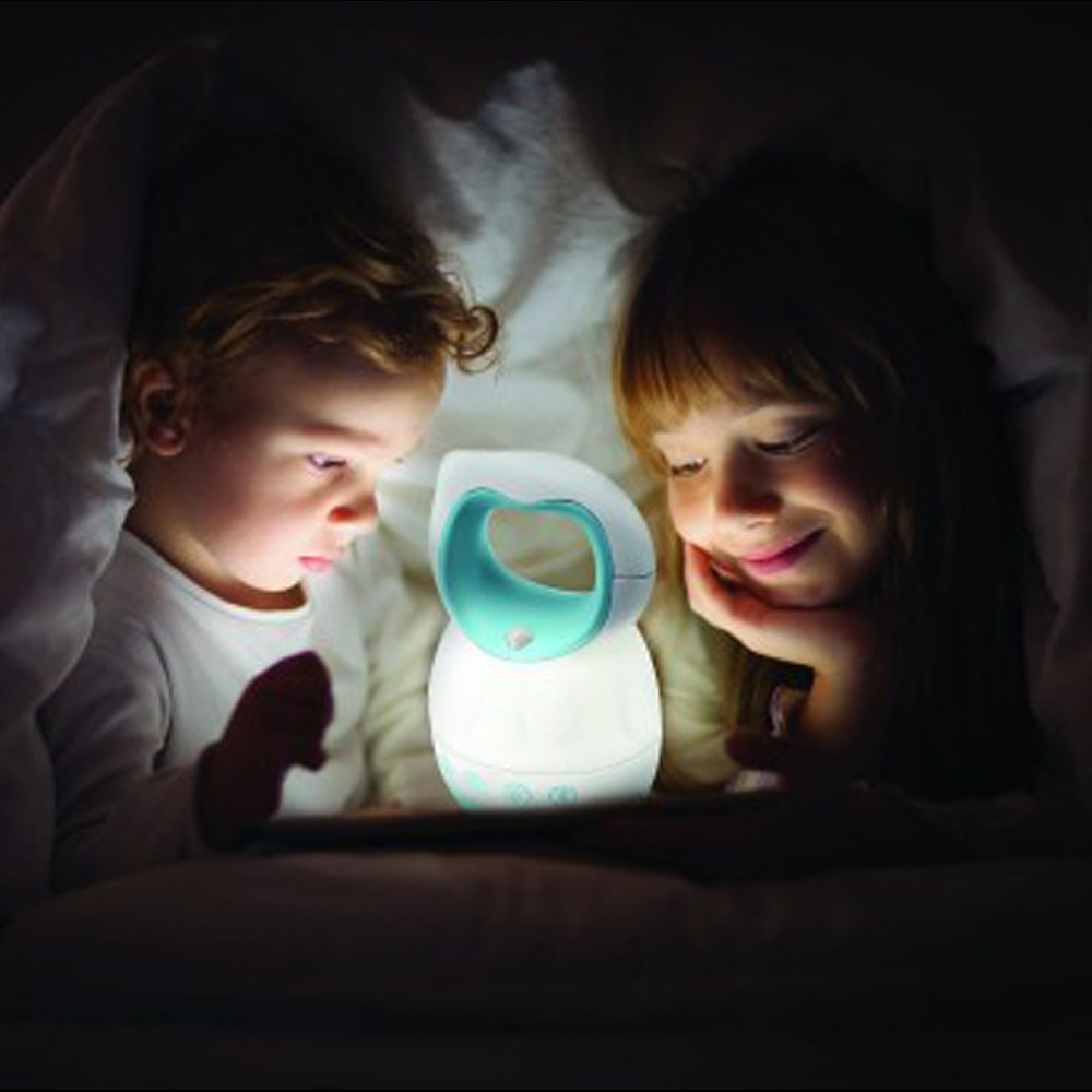 Blue Box Bed Time Lamp