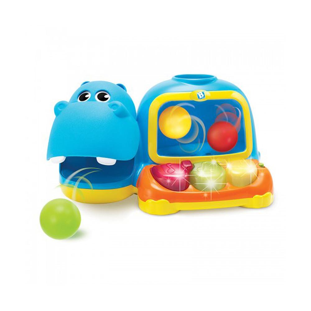 Blue Box Hippo-Poppin' Piano Pal