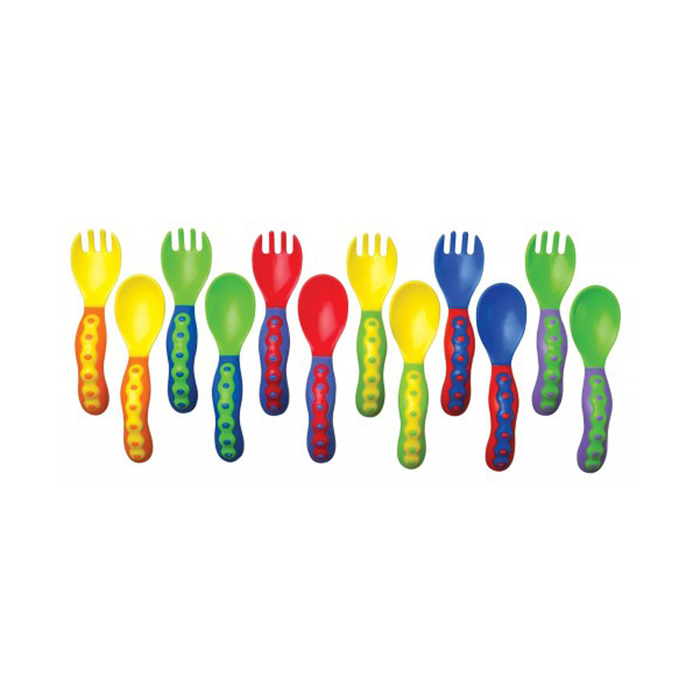 Nuby Fork & Spoon Starter Set