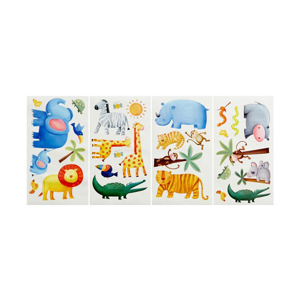 Room Mates Jungle Adventure Wall Stickers