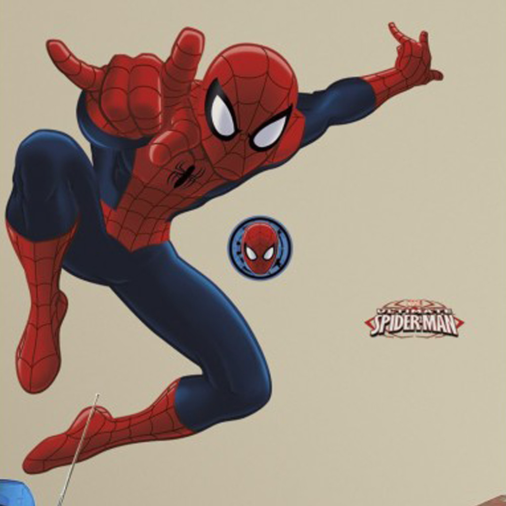 Room Mates Spiderman Giant Wall Stickers