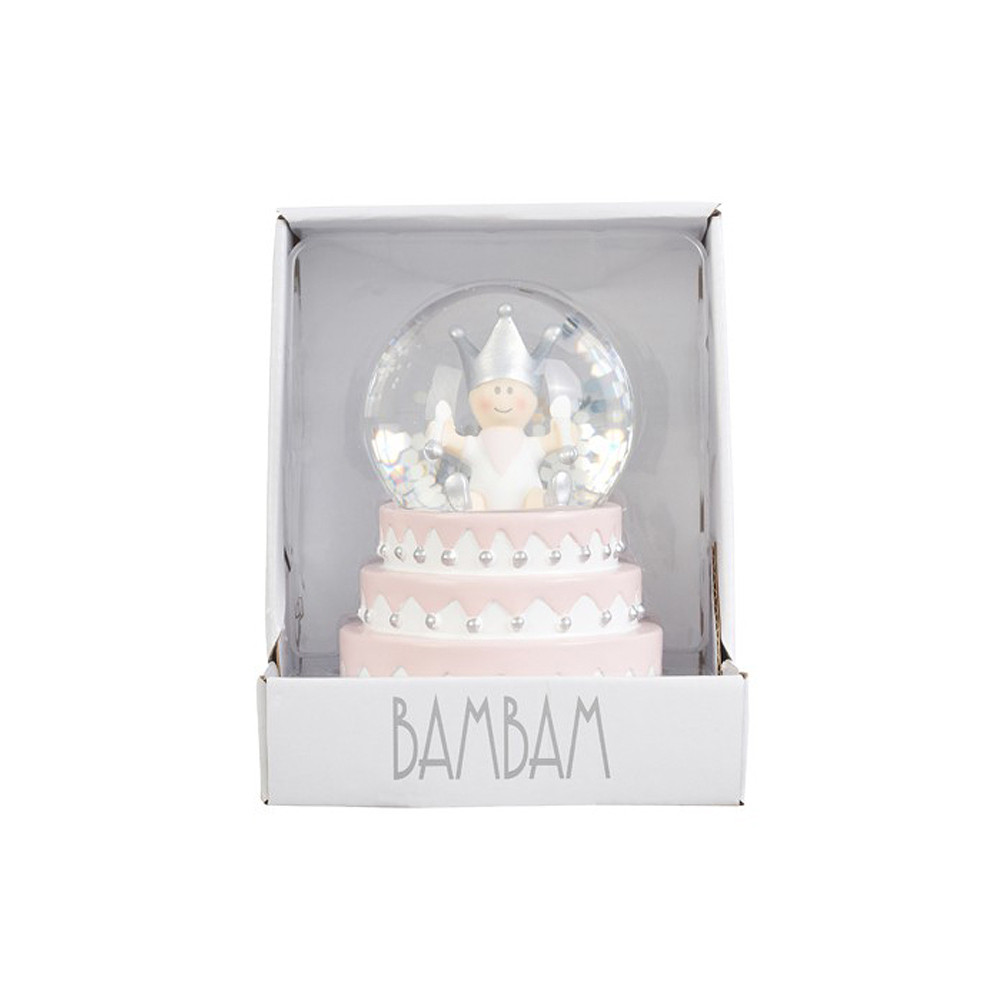 BamBam Snow Globe Cake Girl