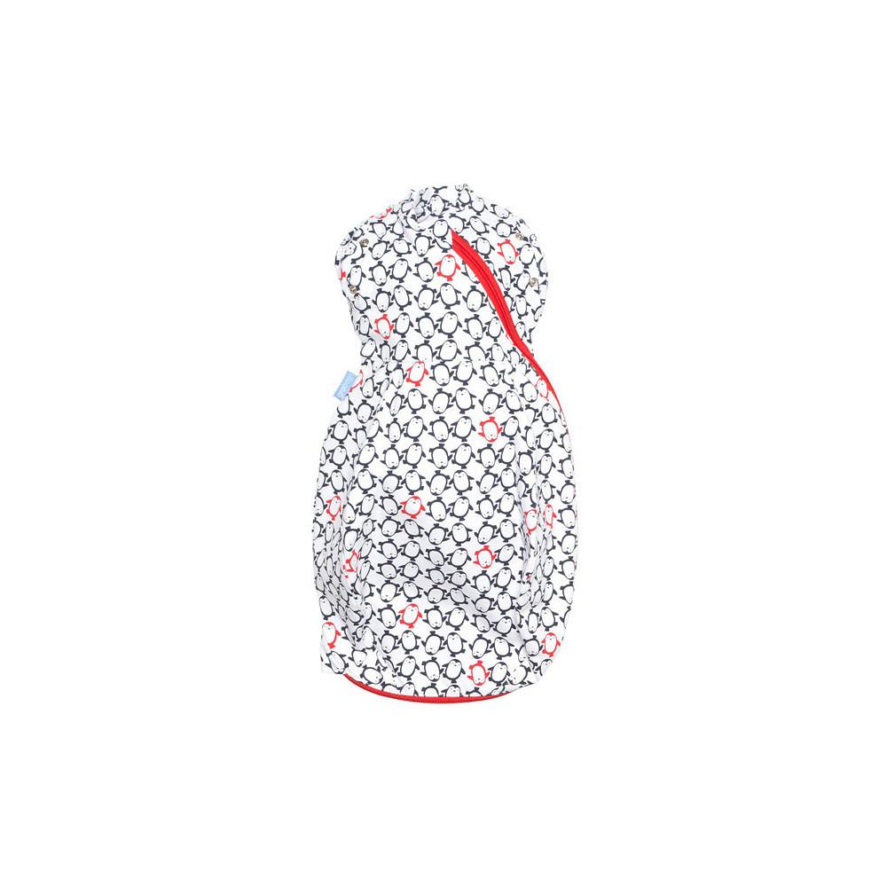 GRO Penguin Pop Navy Newborn Light Gro-Snug