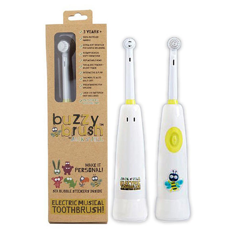 Jack N' Jill Buzzy Brush Musical Electric Tooth Brush