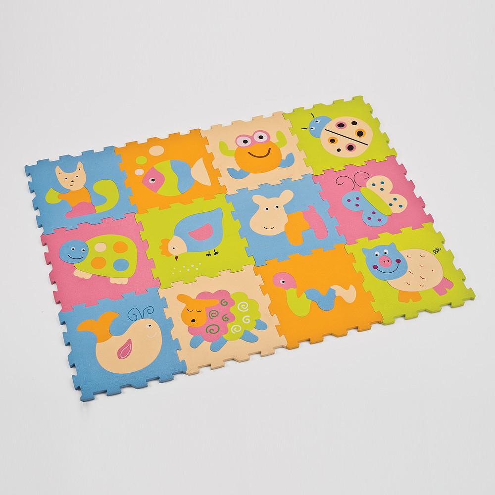 Ludi Foam Puzzle Animal Mat 12 Pcs