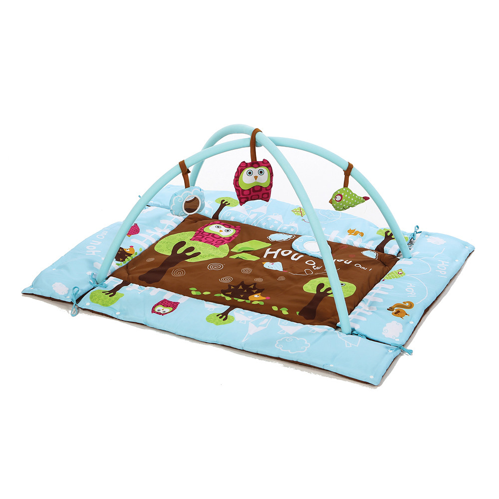 Ludi Rectangle Owl Playmat Blue
