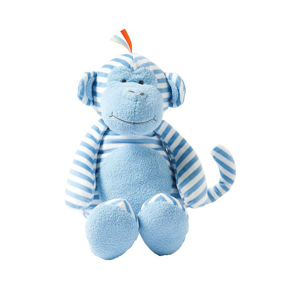 Manhattan Toy Giggle Soft Striped Monkey Large