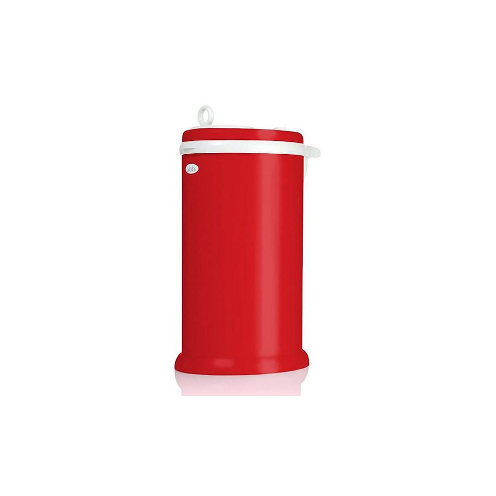 Ubbi Diaper Pail Red