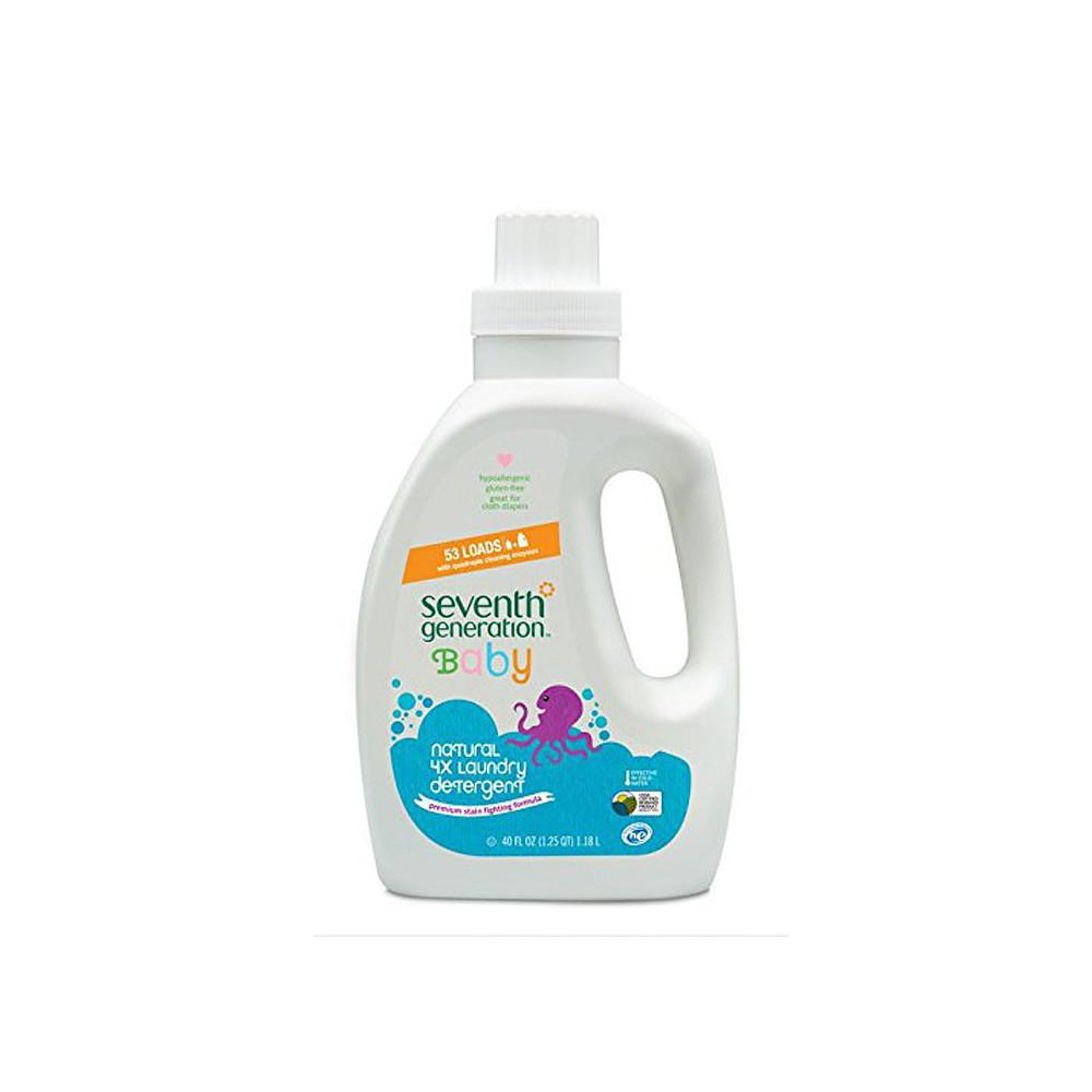 Seventh Generation Baby Home Care 2/40 oz Liquid Laundry