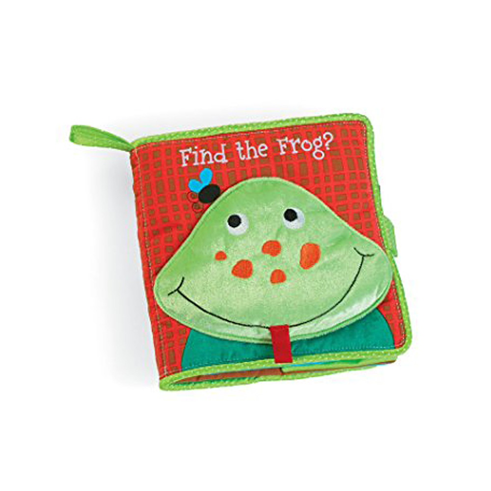Manhattan Toy Find The Frog Soft Book