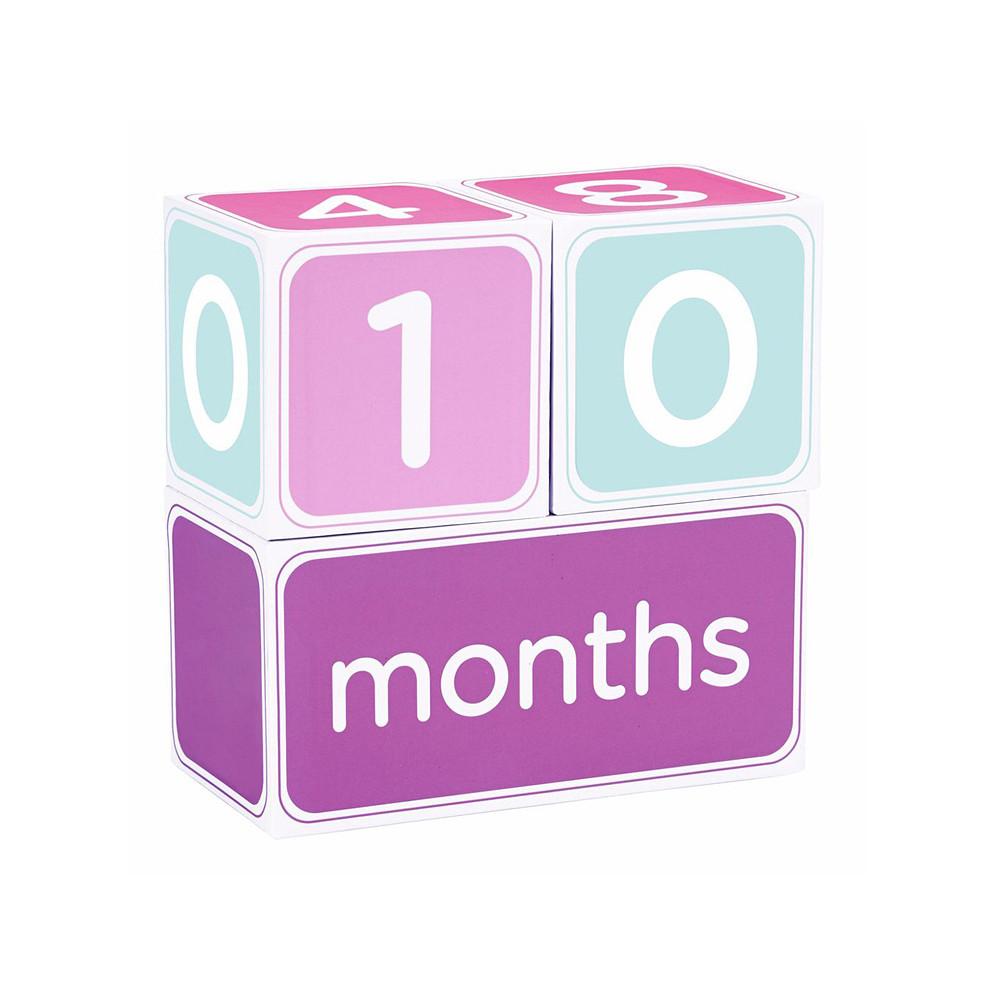 Pearhead Milestone Block Set Pink
