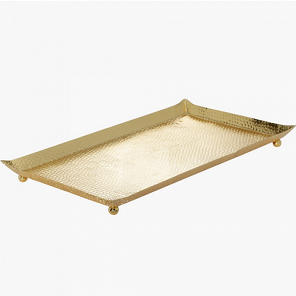 Home Centre Sttat Hammerred Serving Tray 415x215x5 cm